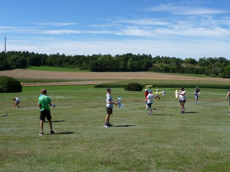 Training vor dem Wettbewerb